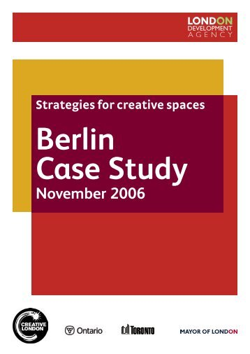 Berlin Case Study - Cities Institute