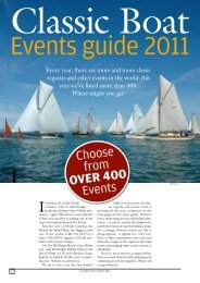 Choose from OVER 400 Events - Classic Boat Magazine