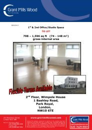 2nd Floor, Wimpole House 1 Bashley Road, Park ... - Grant Mills Wood