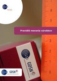 Pravidlá merania výrobkov - GS1 Slovakia