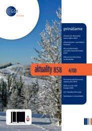 aktuality 858 4/2008 - GS1 Slovakia