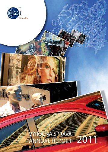 výročnej správe za rok 2011 - GS1 Slovakia