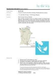 By The Sea - Fact Sheet - Hamptons Asia