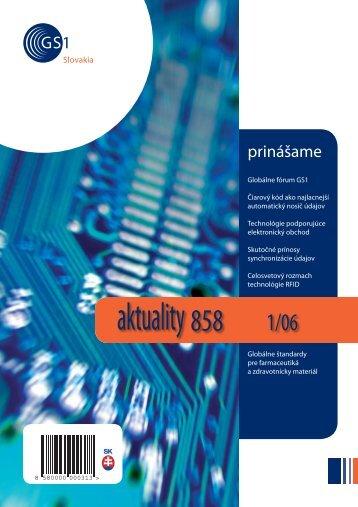 aktuality 858 1/2006 - GS1 Slovakia