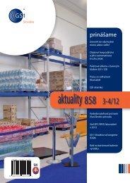 aktuality 858 3-4/2012 - GS1 Slovakia