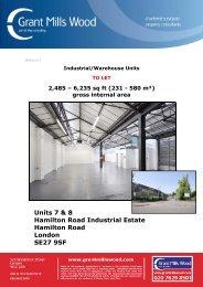 Units 7 & 8 Hamilton Road Industrial Estate ... - Grant Mills Wood