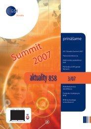 aktuality 858 3/2007 - GS1 Slovakia