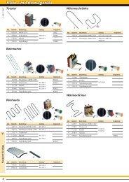 Klein- und Einzelgeräte Klein- und Einzelgeräte
