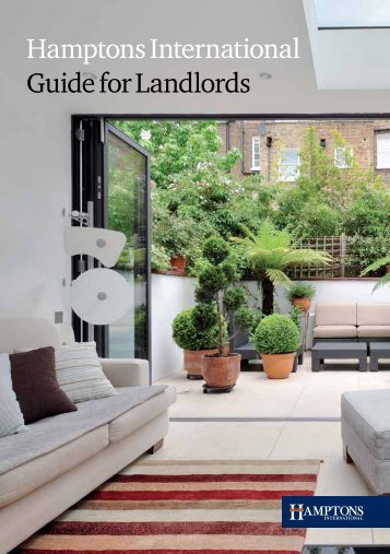 Download the PDF guide for Landlords - Hamptons International