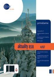 aktuality 858 4/2007 - GS1 Slovakia
