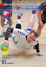Heimspiel aktuell 12-MSG2015