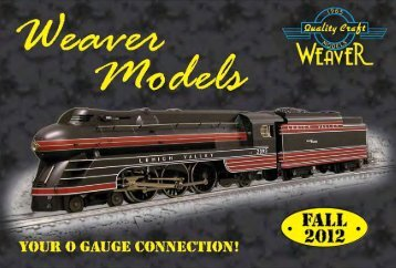 Click Here To View Our Fall 2012 Catalog - Weaver Models