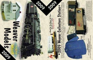 2009 Catalog - Weaver Models