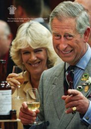 HRH Annual Review 2008 - The Prince of Wales