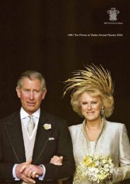 HRH The Prince of Wales Annual Review 2005