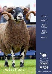 rhs goat.qxd - Royal Highland Show