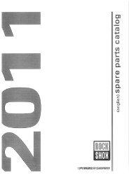 rouge// RockShox 11.4310.645.000 effet rebond Adjuster Knob//Bolt Kit Aluminum red short