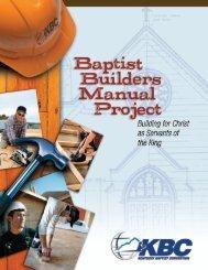 Baptist Builders/Church Covenant - Kentucky Baptist Convention