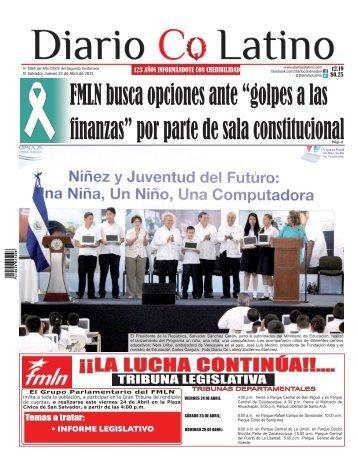 Edición 23 de Abril de 2015