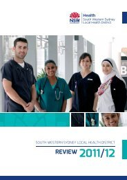 2012 Review - South Western Sydney Local Health District - NSW ...