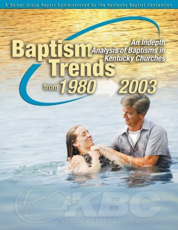 CoverBack page - Kentucky Baptist Convention