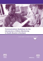 Communications Guidelines for the Introduction of Ethnic Monitoring ...