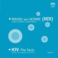 Swahili HIV - A/w - Equalities in Health