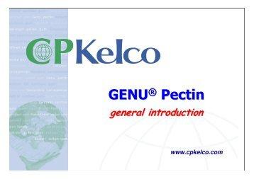 GENU® Pectin