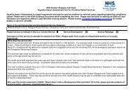 NHS Greater Glasgow and Clyde Equality Impact Assessment Tool ...
