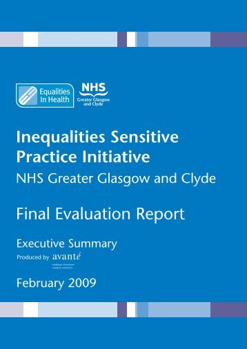 ISPI Evaluation Report - Summary - Equalities in Health