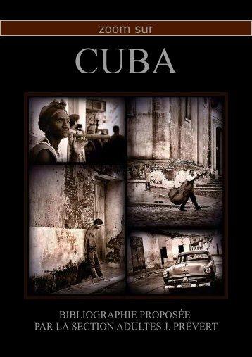 Bibliographie Cuba