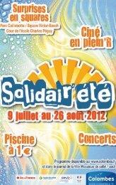 programme de la manifestation - Médiathèques de Colombes - Ville ...