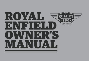 Download Owner's manual - Royal Enfield
