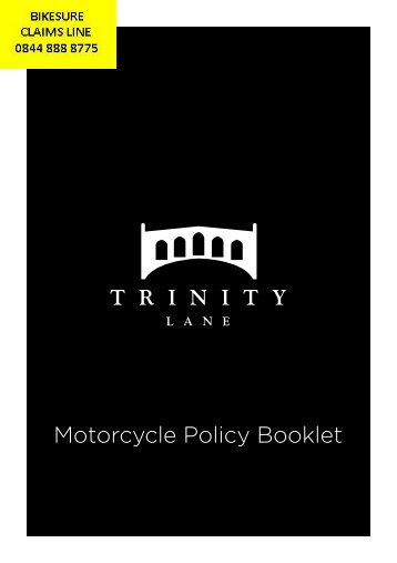 Motorcycle Policy Booklet - Adrian Flux