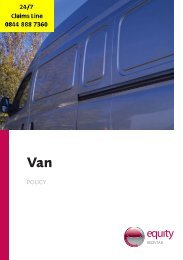 vanpolicy cover.indd - Adrian Flux