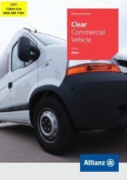 Clear Commercial Vehicle Motor Policy - Adrian Flux