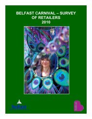 BELFAST CARNIVAL – SURVEY OF RETAILERS 2010