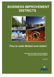 BUSINESS IMPROVEMENT DISTRICTS - Belfast City Centre ...