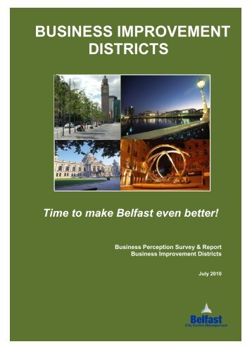 BUSINESS IMPROVEMENT DISTRICTS - Belfast City Centre ...