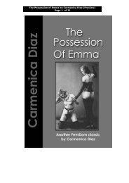 The Possession of Emma preview - Carmenica Diaz