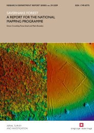 savernake forest a report for the national mapping ... - English Heritage