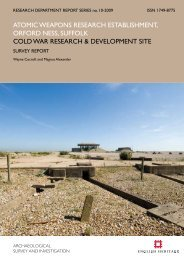 Atomic Weapons Research Establishment. Orford ... - English Heritage