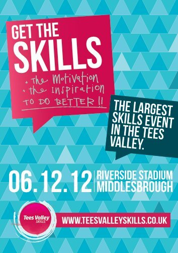Tees Valley Skills Flyer - Middlesbrough College