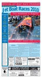 official jet boat race program - Idaho County Free Press