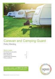 Caravan and Camping Guard - Ageas