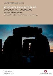 Chronological Modelling - English Heritage