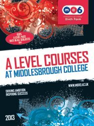 Download - Middlesbrough College