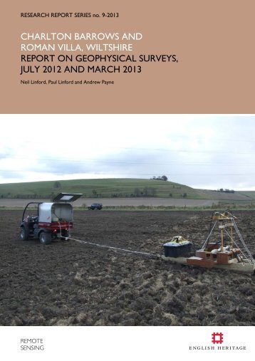 Report on Geophysical Survey, July 2012 - English Heritage