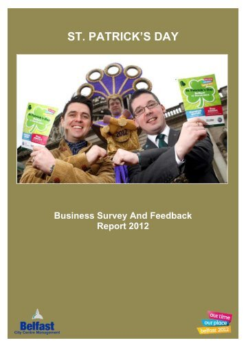 St. Patrick's Day Business Feedback 2012
