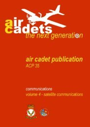 ACP35 Volume 4 – Satellite Communications - 967 Air Cadets